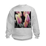 Striped Candy Tulips Sweatshirt