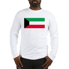 Kuwait Flag Long Sleeve T-Shirt