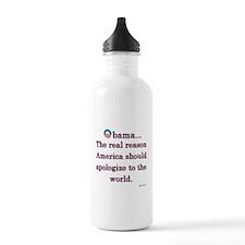 Obama Apology Water Bottle