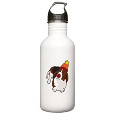 Wilbur the Circus Basset Water Bottle