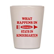 Funny Preschool Shot Glass