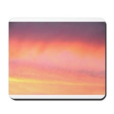 Pink Pretty Sky Mousepad