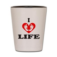 PRO-LIFE CHRISTIAN Shot Glass
