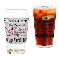 MIND READER Drinking Glass