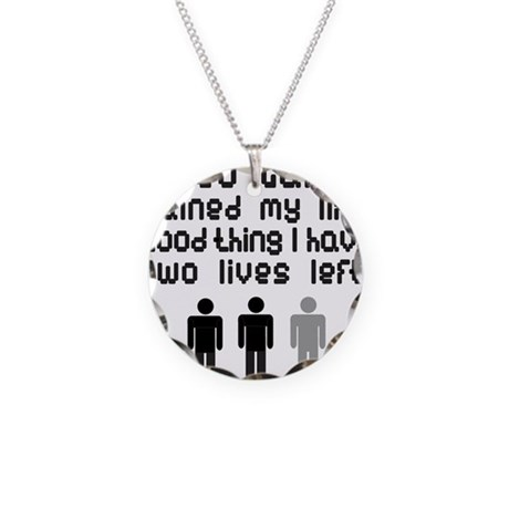 VIDEO GAMES Necklace Circle Charm