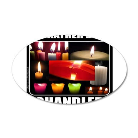 CANDLE MAKER/CANDLE MAKING 38.5 x 24.5 Oval Wall P