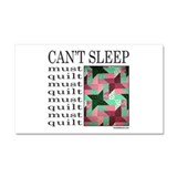 QUILT/QUILTING Car Magnet 20 x 12
