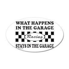 AUTO RACING 22x14 Oval Wall Peel