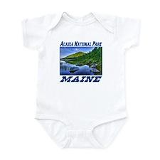 Acadia National Park, Maine Infant Bodysuit