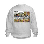 2L0057 - Engine and glider Kids Sweatshirt