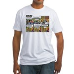 2L0057 - Engine and glider Fitted T-Shirt