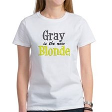 Gray Is The New Blonde Tee