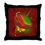 Pepper Season Throw Pillow