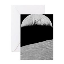 First Earthrise Greeting Card