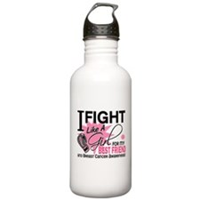 Fight Like A Girl Breast Cancer Water Bottle