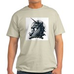 Angry Unicorn Ash Grey T-Shirt