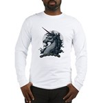 Angry Unicorn Long Sleeve T-Shirt