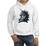 Angry Unicorn Hooded Sweatshirt