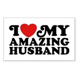 I Love My Amazing Husband Decal