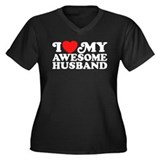 I love my awesome husband Plus Size
