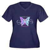 Thyroid Cancer Awareness Womens Plus T Shirt