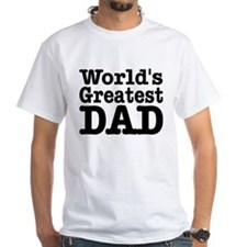 World's Greatest Dad Shirt (to size 4X)
