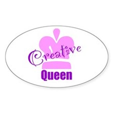 Creative Queen Decal