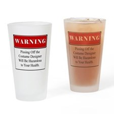 Cute Funny piss Drinking Glass