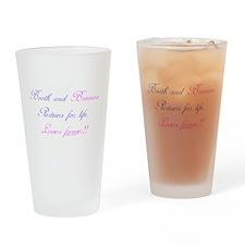 BoothBrennan4Life Drinking Glass