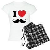 I love moustache  Pyjamas
