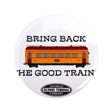 "Illinois Terminal Interurban 3.5"" Button"