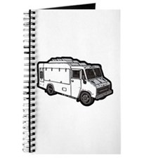 Food Truck: Basic (White) Journal