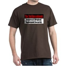 America's Original Homeland Security Black T-Shirt