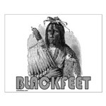BLACKFEET INDIAN CHIEF Small Poster