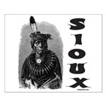SIOUX INDIAN CHIEF Small Poster