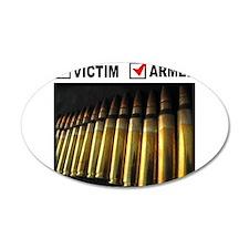 GUN RIGHTS 38.5 x 24.5 Oval Wall Peel
