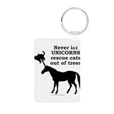 UNICORN Aluminum Photo Keychain