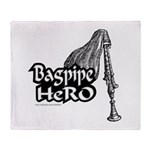 BAGPIPE HERO Throw Blanket