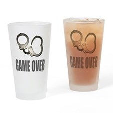 HANDCUFFS/POLICE Drinking Glass