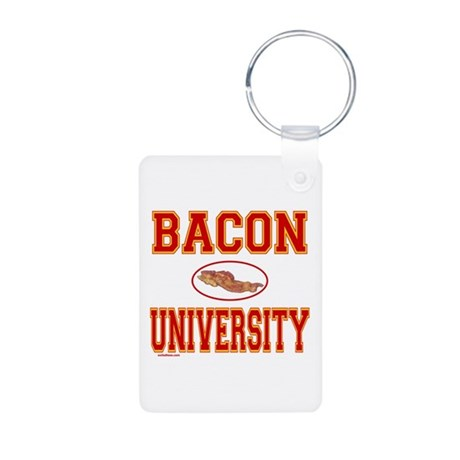 BACON/PORK Aluminum Photo Keychain