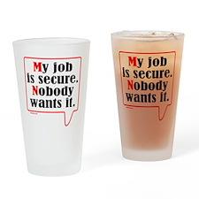 MY JOB Drinking Glass
