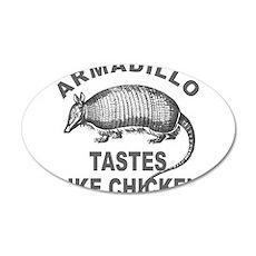 ARMADILLO 22x14 Oval Wall Peel