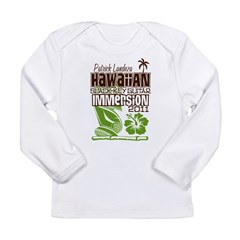 Hawaiian Slack Key Immersion Long Sleeve Infant T-