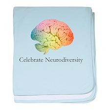 Celebrate Neurodiversity baby blanket