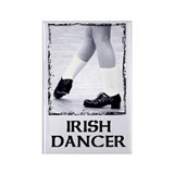 Irish Dancer Rectangle Magnet