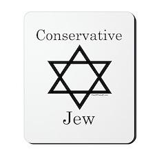 Conservative Jew Mousepad