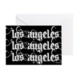 Los Angeles Greeting Card