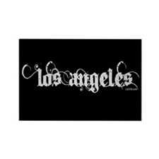 Los Angeles Rectangle Magnet (100 pack)