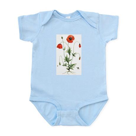 Poppies Infant Bodysuit