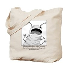 Coffee Grounds Tote Bag